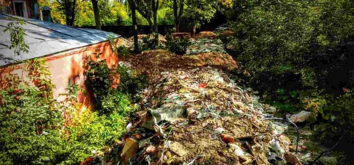 Тимирязевку заваливают строительными отходами