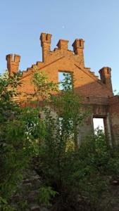 Руины старинной усадьбы