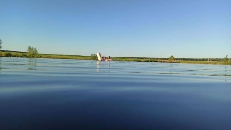 Безымянное озеро отделения Шереметьево