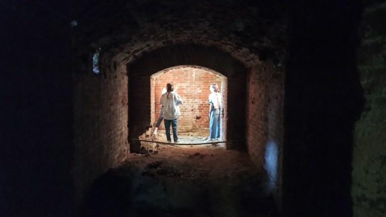 Подвалы старинной усадьбы